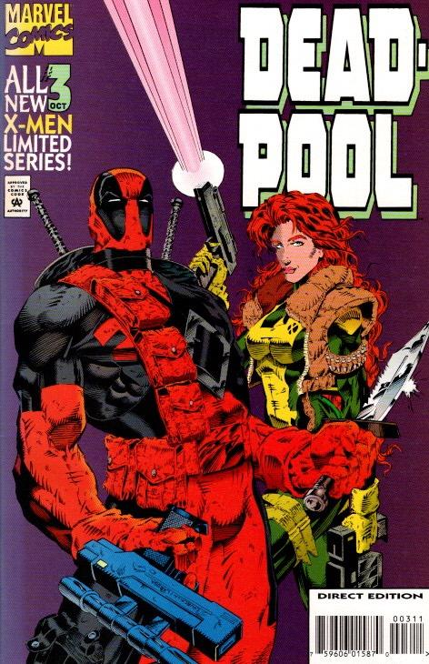 DEADPOOL LIMITED SERIES #1,2,3,4 ALL NEAR MINT 10.00
