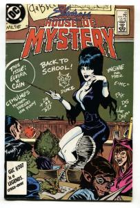 ELVIRA'S HOUSE OF MYSTERY #10 1986 cool cover - comic book