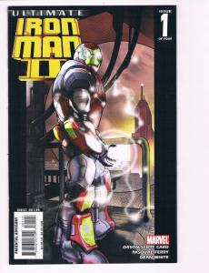 Ultimate Iron Man 2 # 1 VF/NM Marvel Comic Book War Machine Avengers Hulk S80