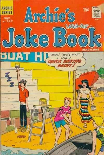 Archie's Joke Book Magazine #142, Fine- (Stock photo)