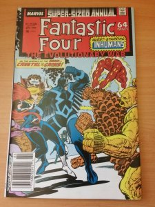 Fantastic Four Annual #21 Newsstand Edition ~ NEAR MINT NM ~ 1988 MARVEL COMICS