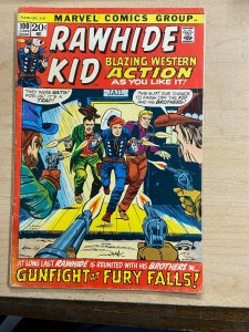RAWHIDE KID #100 (Marvel,6/1972) VERY GOOD MINUS (VG-) Larry Lieber story/art