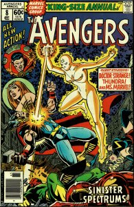 Avengers Annual #8 - NM - Last Appearance of Squadron Supreme