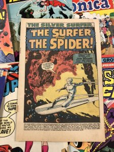 Silver Surfer #14 Coverless Copy, Spider-man Cover