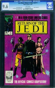 Star Wars The Return of the Jedi #1-1983-cgc 9.6 - 0207093019