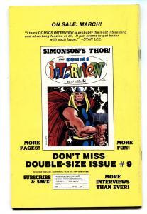 AMAZING HEROES #43 1984-In Depth WARLOCK history