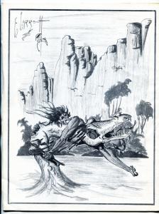 ERB-Dom fanzine #10 1964- Edgar Rice Burroughs- Tarzan f/vf