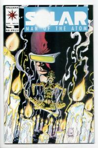 Solar Man of The Atom #21 (Valiant, 1993) VF