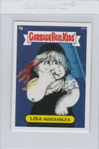 Garbage Pail Kids Lisa Miserables 164a GPK 2013 Brand New Series 3 trading card