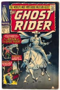 Ghost Rider #1 1967-Marvel-1st issue-Dick Ayers art-origin-VG