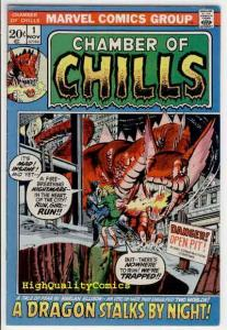CHAMBER of CHILLS #1, FN+, Craig Russell, Ellison, 1972, Bronze age