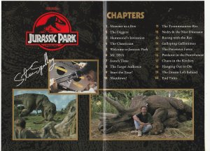 Jurassic Park DVD   Dinosaurs Are Back !