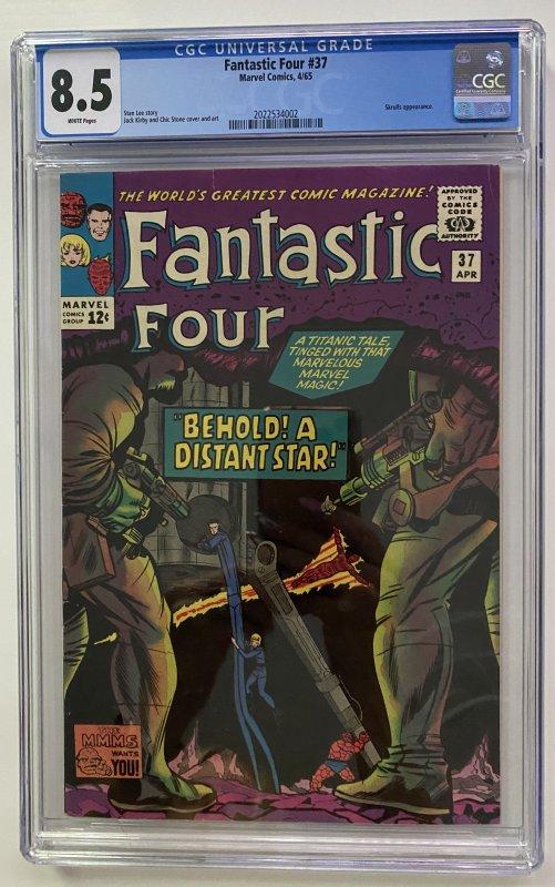 Fantastic Four #37 (1965) CGC Graded 8.5