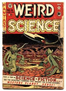 Weird Science #6 1951- EC Comics- Wally Wood-Kurtzman