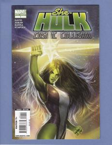 She-Hulk Cosmic Collision #1 NM-