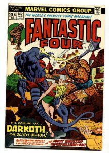 FANTASTIC FOUR #142 comic book-1974-Marvel NM-