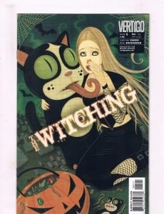 Lot Of 4 The Witching DC Vertigo Comic Books # 5 6 7 8 Jonathan Vankin Ser. BN11
