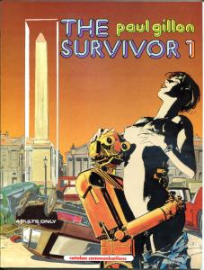 The SURVIVOR #1 gn / tpb, VF+, Paul Gillon, 1st, 1990, Catalan, more GN in store