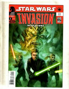 12 Star Wars Invasions Dark Horse Comic Books # 1 2 3 4 5 6 + 1 2 3 4 5 6 J399