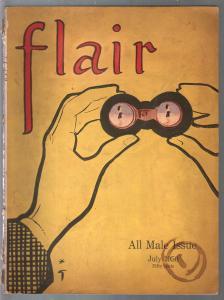 Flair #6 7/1950-Cowles-All Male Issue-Gary Cooper-Jim Thorpe-VG