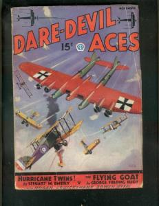 DARE-DEVIL ACES PULP-11/935-HURRICANE TWINS-SMOKE WADE  FR/G