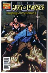 ARMY of DARKNESS #11, NM, Ash vs Dracula, Chainsaw, 2005, more AOD in store
