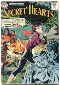 SECRET HEARTS #49 1958-DC ROMANCE-COOL G-