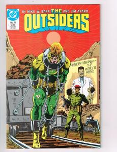 Lot Of 8 Outsiders DC Comic Books # 11 12 13 14 15 16 17 18 Batman Superman AD29