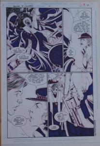 PHIL JIMENEZ / PETER GROSS original art, SHOWCASE '94 #6 pg 15, 11x 17, 1994