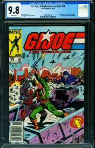 G.I. JOE A Real American Hero #16 CGC 9.8 RARE NEWSSTAND ed-2038907018