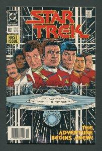 Star Trek #1  / 9.6 - 9.8 NM-MT  Newsstand  October 1989