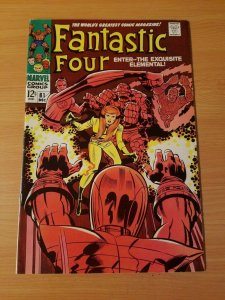 Fantastic Four #81 ~ VERY FINE - NEAR MINT NM ~ (1968, Marvel Comics)