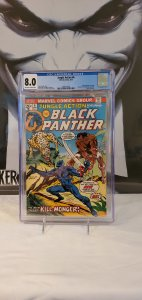Jungle Action #6 - CGC 8.0 - 1st App. Killmonger