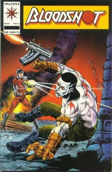 Bloodshot (1993 series) #2, NM (Stock photo)