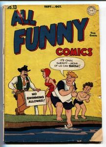 ALL FUNNY COMICS #13 1946-comic book GENIUS JONES Golden-Age DC G