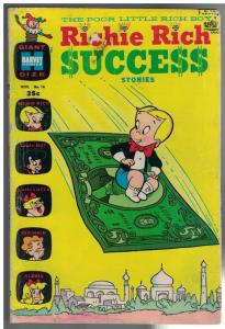 RICHIE RICH SUCCESS STORIES  16 FR-G Nov. 1967