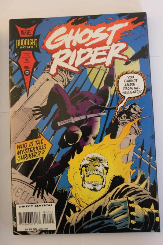 Ghost Rider V2 1990 52  9-4-nm
