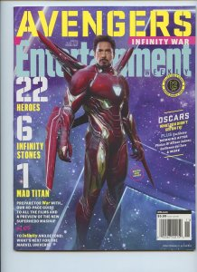 ENTERTAINMENT WEEKLY Collector's Cover: Tony Stark - Promo Issue - Cover #12
