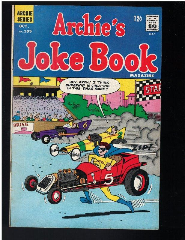 Archie's Joke Book Magazine #105 (1966)