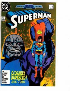 Lot Of 5 Superman DC Comic Books # 3 4 5 6 7 Batman Flash Arrow Atom J217
