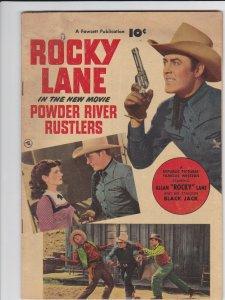 Powder River Rustlers  Fawcett Movie Comic 1 GD/VG- (1950)