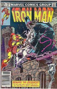 Iron Man #164 (Oct-82) VF High-Grade Iron Man
