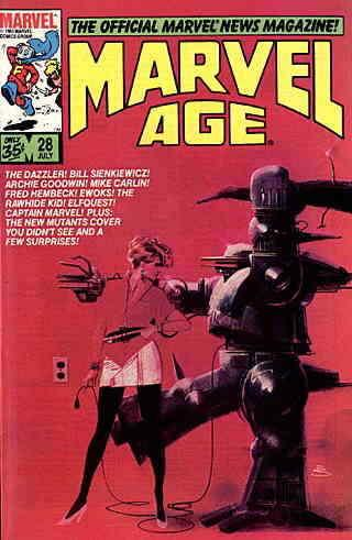 Marvel Age #28 FN; Marvel | save on shipping - details inside