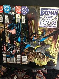 Batman #417 (1988) Super high grade 10 nights of the beast set 1-4  NM Wow!