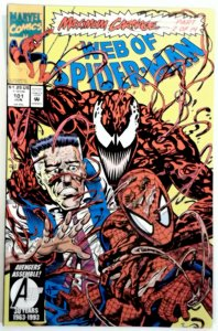 Web of Spider-Man 101  NM  Near Mint  Maximum Carnage Venom Marvel Comics 1993