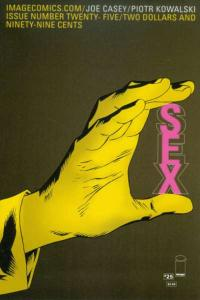Sex (2013 series) #25, NM (Stock photo)