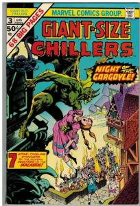 GIANT SIZE CHILLERS 3 F-VF  Aug. 1975 Wrightson