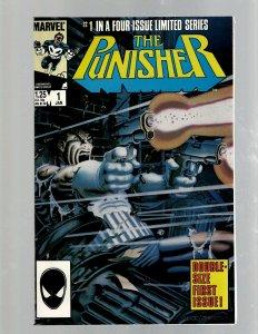 The Punisher Complete Marvel Comics LTD Series # 1 2 3 4 5 Comic Books NM SB5