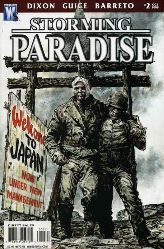 Storming Paradise #2 VF/NM; WildStorm | save on shipping - details inside