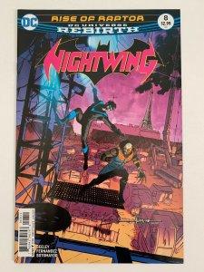 NightWing #8 DC Rebirth Rise of Raptor | DC Comics | NM